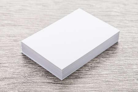 marca libros: Libro Blanco maqueta en madera Foto de archivo