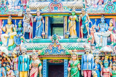 mariamman: Indian hindu temple in singapore