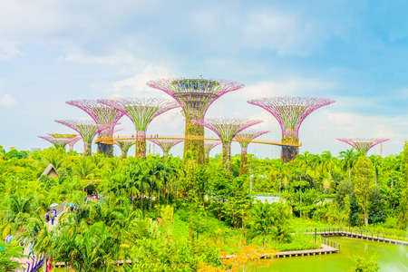 Garden by the bay at singapore Editorial