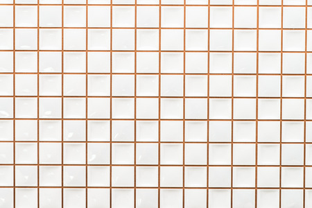 wall textures: White tile wall textures background Stock Photo