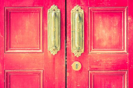 door knob: Door knob - vintage filter effect