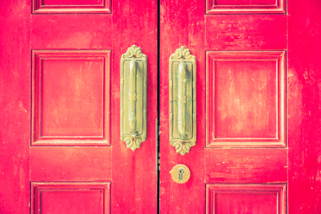 knob: Door knob - vintage filter effect