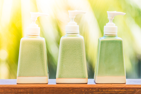 lotion bottle: Lotion bottle