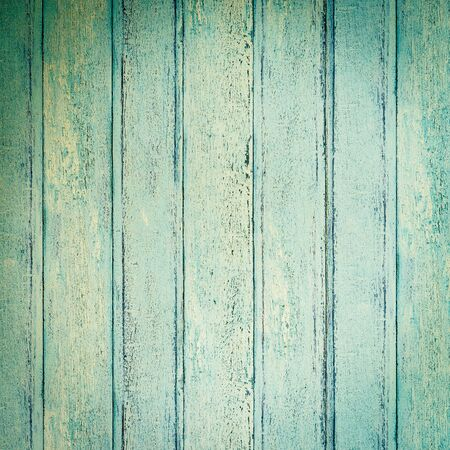 wood textures: Old blue wood background textures - vintage filter