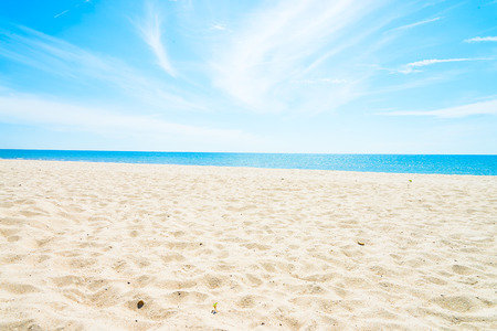 Empty sea and beach background with copy space Stock Photo - 44028848