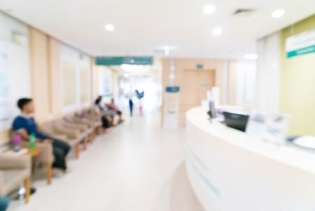 Zusammenfassung Unschärfe Hintergrund Krankenhaus Lizenzfreie Bilder - 44797788