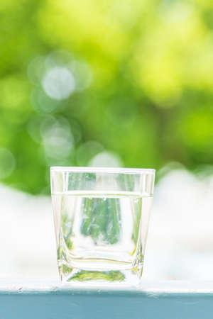 acqua bicchiere: Drinking Water glass Archivio Fotografico