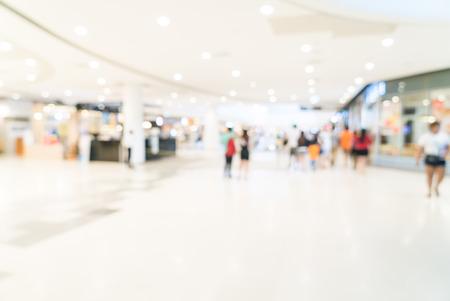 Zusammenfassung Unschärfe Einkaufszentrum Hintergrund Lizenzfreie Bilder