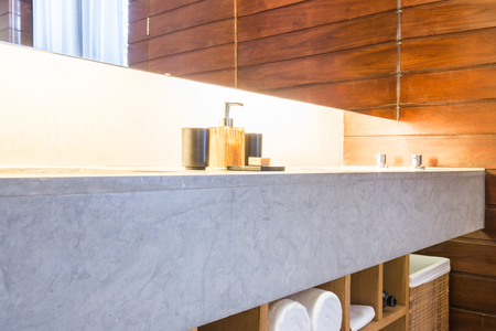 bathroom interior: Beautiful luxury bathroom and toiley interior