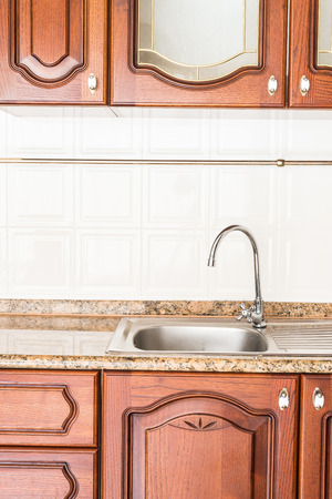 custom cabinet: Home kitchen interior