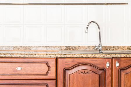 real kitchen: Home kitchen interior