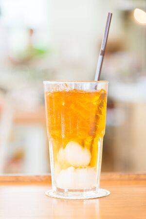 lychee juice: Lychee juice glass