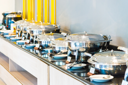 catering: Selective focus point on Catering buffet food