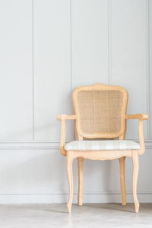 wall decor: Vintage classic furniture decoration room