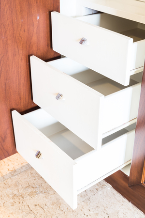 drawers: Empty dress drawers