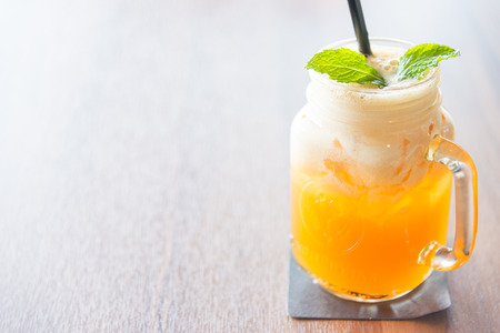 tropical drink: Mango juice