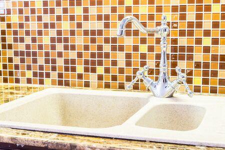 water sink: Water sink decoration kitchen interior