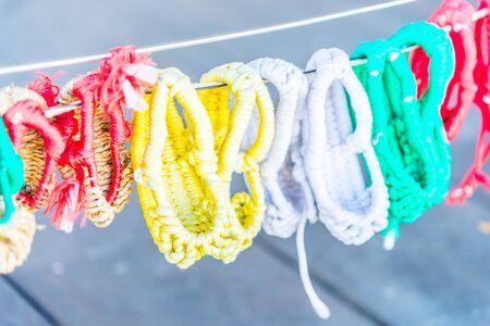 sandalia: zapatos de la sandalia de paja - estilo de Corea