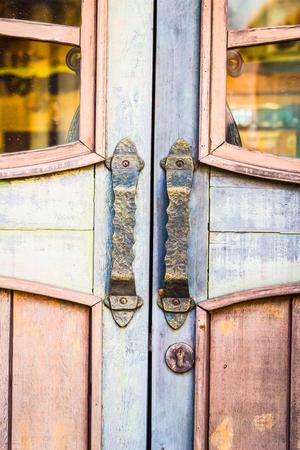 handle: Puerta de estilo manija de la vendimia
