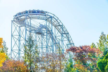 roller coaster: Roller coaster in korea park