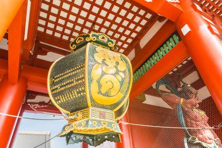 asakusa: Beautiful Architecture in Sensoji Temple around Asakusa area at Japan Editorial