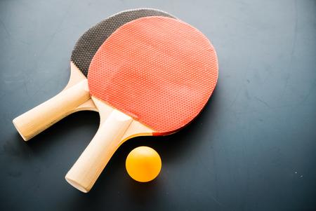 ping pong: ping-pong con la bola