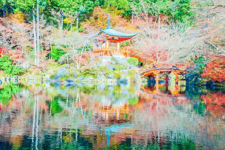Beautiful Daigoji Temple in Kyoto Japan