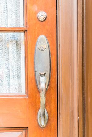 handles: Old Door handles decoration exterior of home