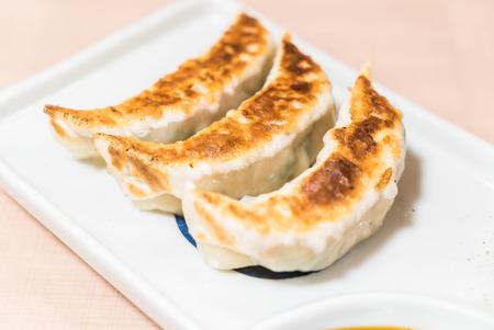gyoza: Fried dumplings or Gyoza