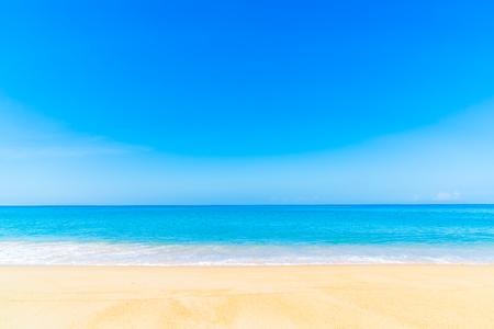 Schöne tropische Landschaft Strand Meer und Sand für Urlaub