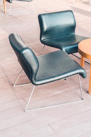 vintage furniture: Modern wood chair furniture - Vintage filter