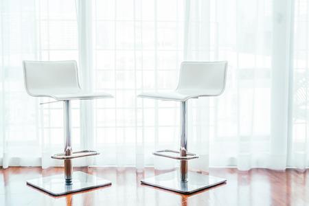 livingroom minimal: Modern chair decoration in livingroom interior - Light vintage Filter