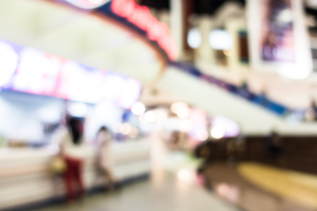 superstore: Abstract blur superstore interior or shopping mall interior for background