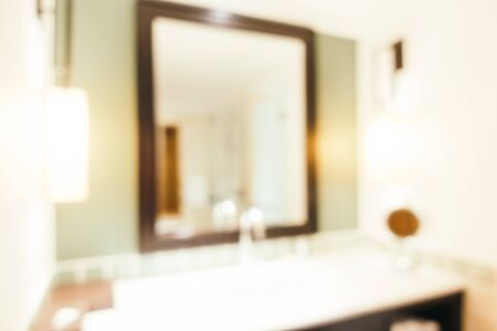 conceit: Abstract blur bathroom interior for background - Vintage Light Filter Stock Photo