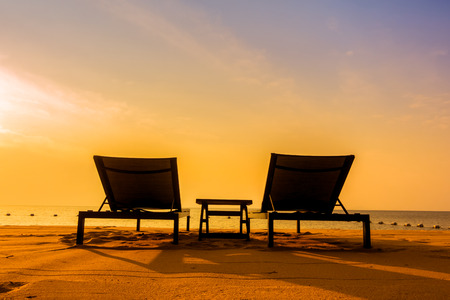 Beach Chairs Stock Photos Pictures Royalty Free Beach Chairs