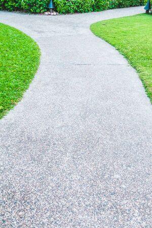 stone path: Stone path way for walking around beautiful garden
