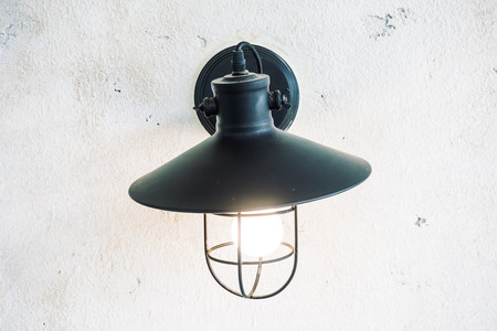wall sconce: Light lamp on wall decoration livingroom interior - light Vintage Filter