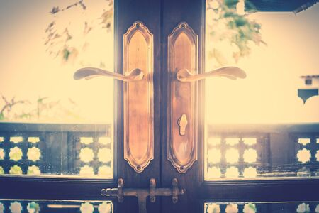 door knob: Vintage Door knob decoration interior - Vintage Filter