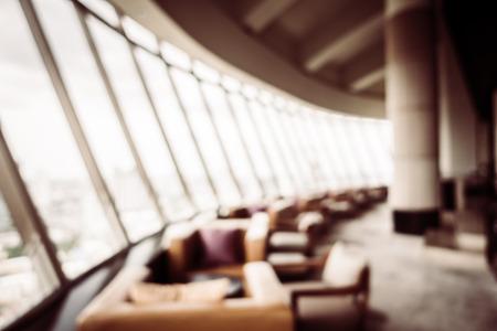 Zusammenfassung Unschärfe Schöne Luxus-Restaurant Interieur Für Den ...