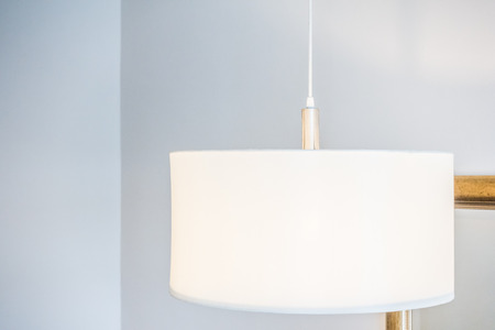 ceiling lamp: Ceiling lamp decoration interior of room Stock Photo