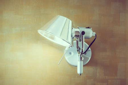 sconce: Light lamp on wall decoration interior of room - Vintage Filter
