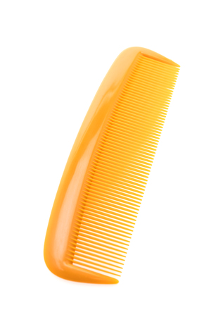 Hairbursh or hair comb isolated on white background
