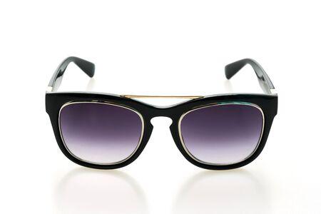 Beautiful Luxury sunglasses isolated on white background