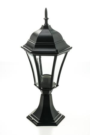 Lamp decoration isolated on white background