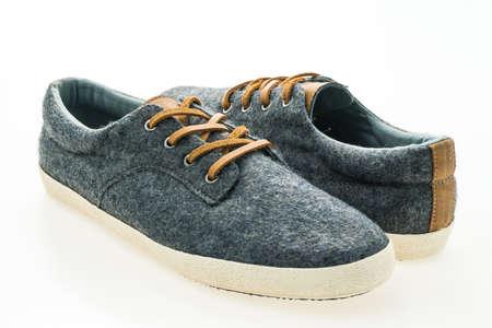 Fashion shoes isolated on white background Stock Photo