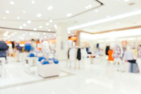 falta de definición abstracta y centro comercial desenfocado de lujo de centro de tienda de departamentos para el fondo Foto de archivo