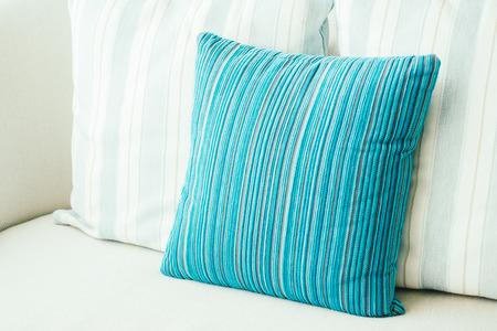 Pillow on sofa decoration interior of room Lizenzfreie Bilder