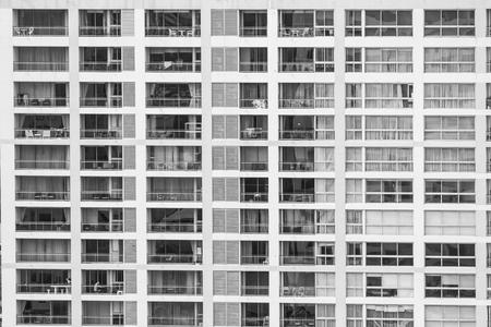 Window building pattern exterior for background Lizenzfreie Bilder
