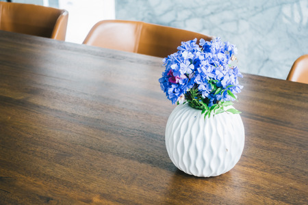 contemporary living room: Flower vase on table decoration