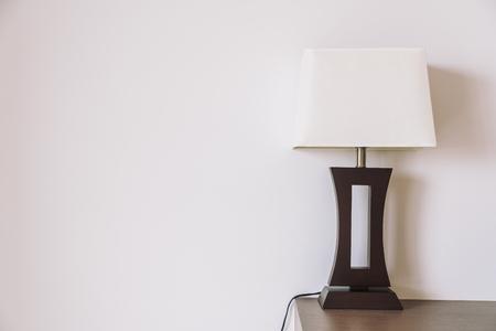 Lichte lampen decoratie interieur van de kamer royalty vrije foto